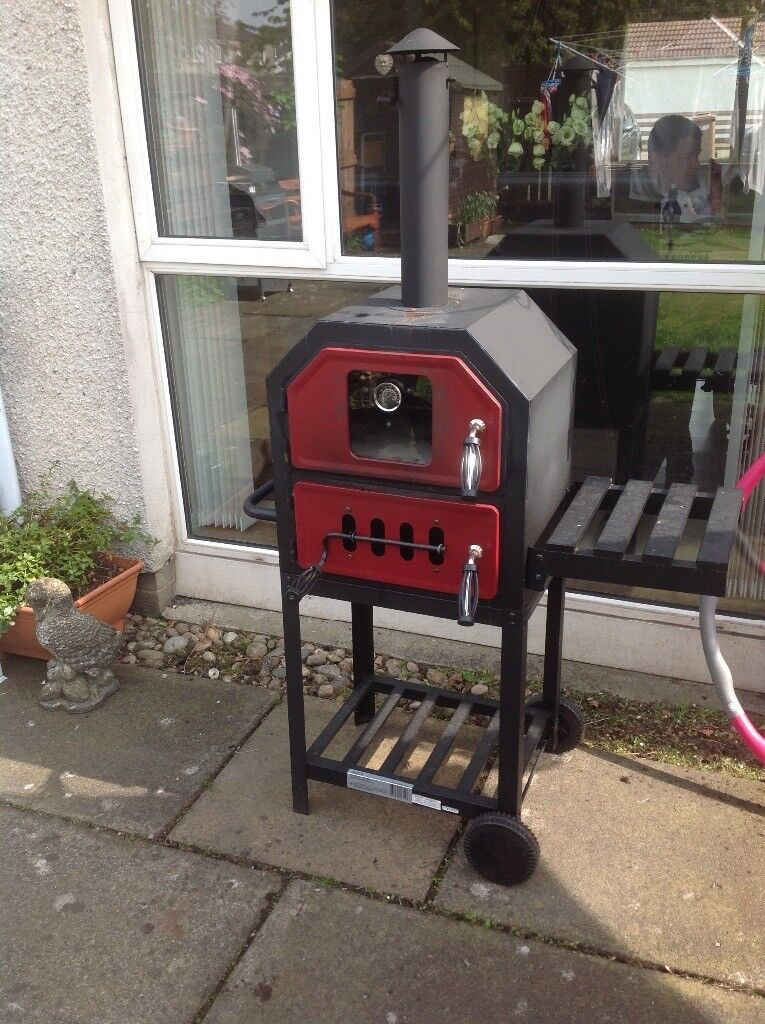 Pizza Oven - Outdoor - Charcoal/Wood