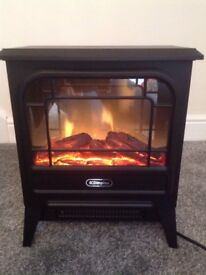 Dimplex electric stove fire