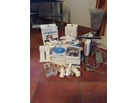 Nintendo Wii plus 14 games and accessories