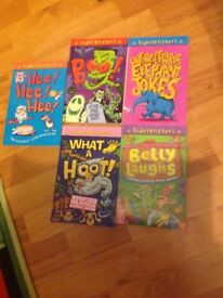 Joke books x5 as new condition