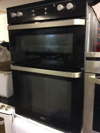 Beko double oven. Reconditioned and guaranteed.