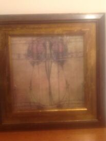 4 X Mauro Cellini Prints In Beautiful Solid Wood Frames In Old