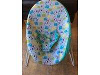 Baby bouncer/ bright starts chair