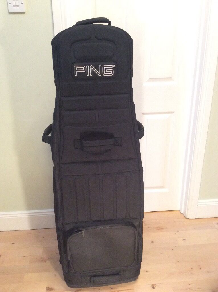 Ping Rolling Travel Golf Bag Protector Belmont Belfast
