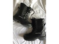 Steel toe cap boots ladies 5