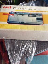 Plinth heater