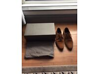 Reiss taned suede shoes size 9 EU 42