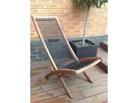 IKEA BROMMÖ Outdoor Lounger Chair