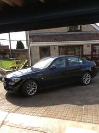 Rare BMW 3 Series. 318i automatic 2008 . Sat Nav. Pan roof. F & R parking sensors. Full leather.