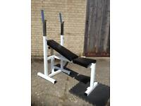 White Bench Press (Delivery Available)