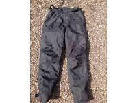 Armr Motorbike black trousers size M