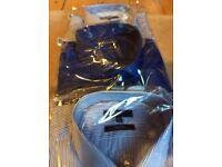 3 M&S mens shirts, collar size 17.5 - 18