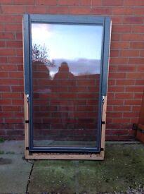 Velux Centre Pivot Pine Roof Window. Size: 94x106cm. New £175 ono