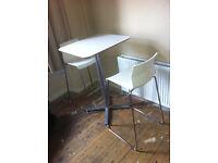 Ikea (Glenn) breakfast bar stool chair - White