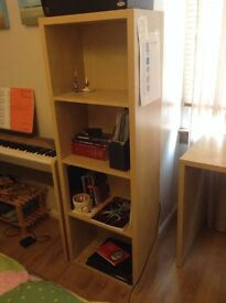 IKEA Lasse Birch Effect Bookself and Desk