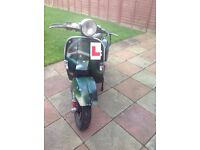 vespa px 125 with malossi 166 kit good offers only