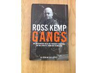 Ross Kemp Gangs Hardback Book R.R.P. £16.99
