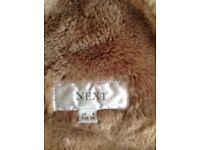 Sheepskin faux jacket