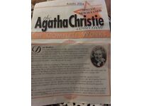 Agatha Christie Complete Works Collection 85off with magazines, mint condition & Playing Cards.