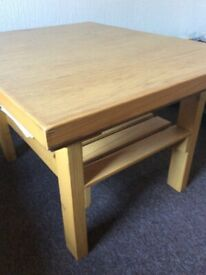 Coffee table with storage RRP 120