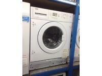 Beko intergrated 7kg washing machine. £269. New/graded 12 month Gtee