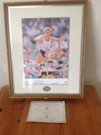 Signed sally gunnel photo ...large.