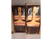 4No Professional Paddle Brushes
