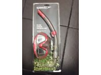 Brand new glide junior snorkel set