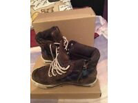Timberland Boots junior size 12.