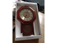Wall clock working £5 boxed