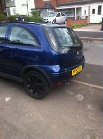 Bargain vauxall corsa 1.2 sxi in really good condition