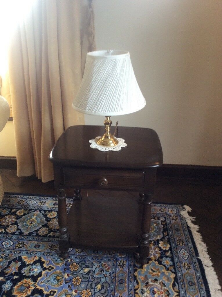 Ercol lamp table old colonial finish in rotherham south ercol lamp table old colonial finish aloadofball Images