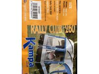 KAMPA RALLY CLUB 260 EX CON with loads of extras - matching windshields etc etc