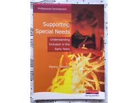 Early childhood studies BOOK - Supporting special needs..inclusion in the early years