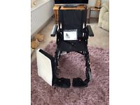 Wheelchair by invacare.