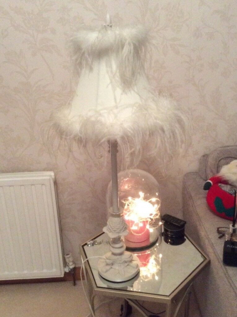 Ostrich Feather Cream Hard To Find Gorgeous