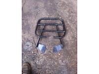 Honda cbf125 cbf rear rack