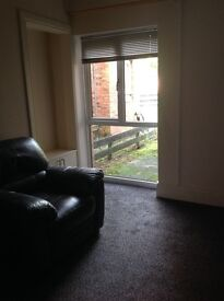 One bedroom ground floor flat with garden