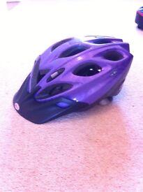 ladies purple bicycle helmet 50-57cm