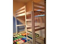 High sleeper bed, excellent condition
