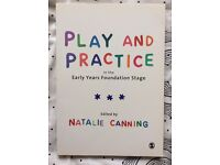 Early childhood studies BOOK - Play and practice in the EYFS