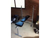 Weight bench (Star shaper)