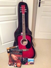 New Rikter guitar and accessories