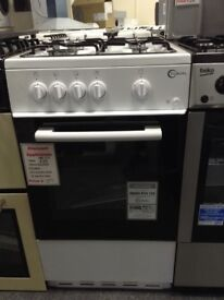Flavel 50cm white gas cooker. Single cavity. £189 new/graded 12 month Gtee
