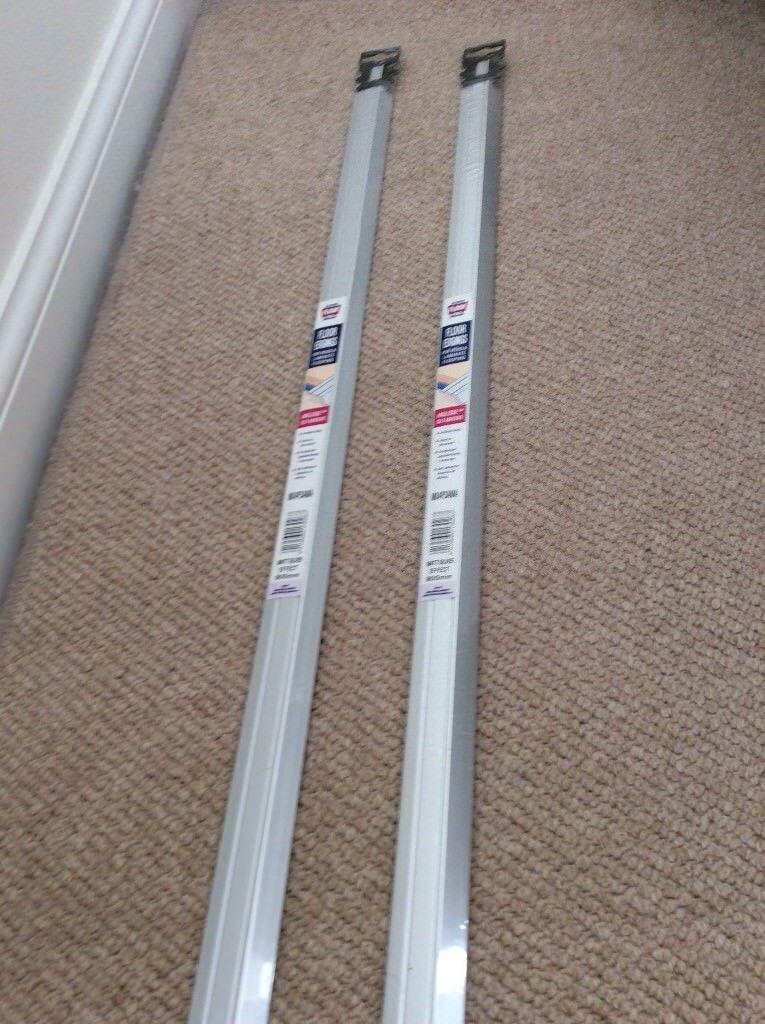 2 Laminate Floor Door Strips