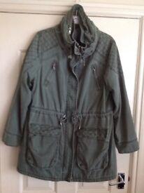 Ladies Khaki Coat