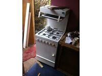 Retro Flavel gas cooker oven