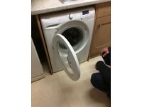 Hoover automatic washing machine with 1600 spin cycle