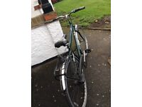 Raleigh Chiltern men's Bicycle 18 inch frame 3 speed
