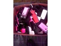 Approx 200 iphone rubber Cover's - All Brand New - Job Lot...200 covers !!! £50 Only !!!